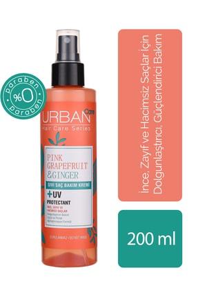 Urban Care Pembe Greyfurt  Zencefil İçeren Dolgunlaştırıcı Saç Kremi 200 ml 0