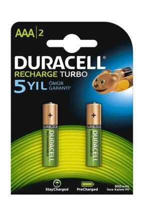 Duracell Şarjlı Aaa Ince Kalem Pil 900 Mah 2'li Paket 0