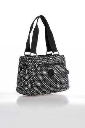 Smart Bags Smbky1125-0127 Siyah/beyaz Kadın Omuz Çantası 1