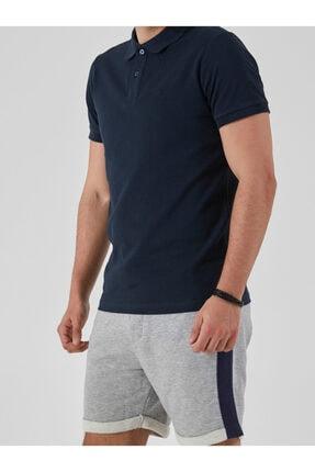 Ltb Erkek  Lacivert Polo Yaka T-Shirt 012208450860890000 4