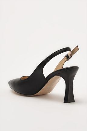 Hotiç Siyah Kadın Klasik Topuklu Ayakkabı 01AYH214420A100 2