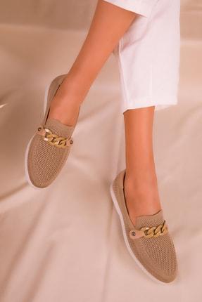 Soho Exclusive Vizon Kadın Casual Ayakkabı 16108 0