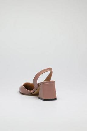 ALTINAYAK Kadın Yanı Kesik Arka Açık Sivri Kalıp Ayakkabı 3