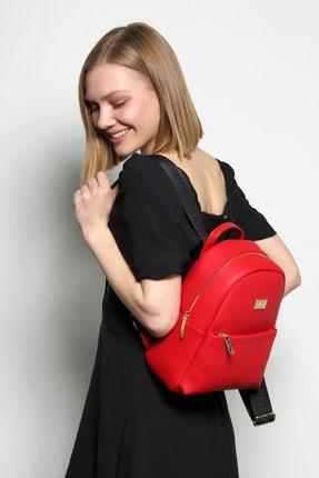 Marie Claire Kadın Kırmızı Berta Sırt Çantası Mc212102165 0