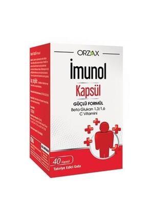 Orzax Imunol Capsül 0