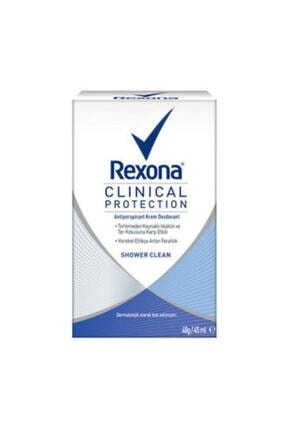 Rexona Kadın Deo Stick Clinical Protection Shower Clean 45 ml 0
