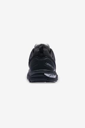 Lescon Erkek Siyah Rapid Runner Spor Ayakkabısı 3
