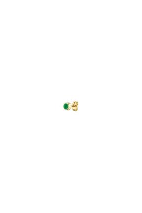 Prato Zümrüt Altın Küpe KW438Y438