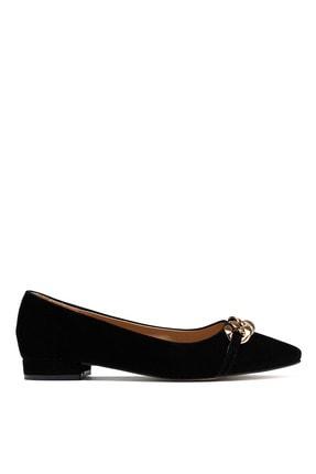 Kadın Siyah Julıette Babet Düz Ayakkabı 120972
