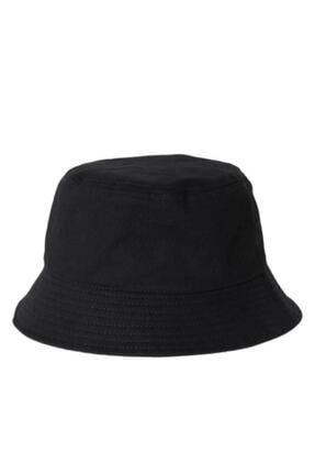 Orçun Özkarlıklı Siyah Bucket Balikçı Şapka 0