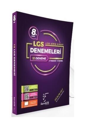 Karekök Yayınları 8. Sınıf Lgs 12'li Denemeleri 4 Tarama 8 Genel 0