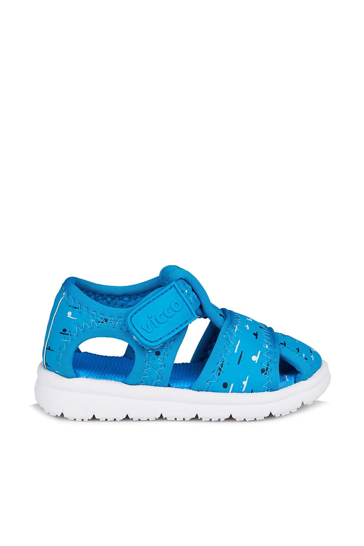 Vicco Bumba Erkek Bebe Mavi Sandalet