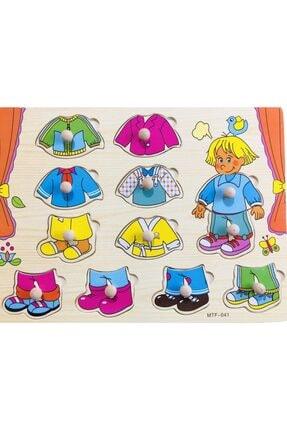 TOYS&TOYS Ahşap Eşleştirmeli Bultak&yapboz Çocuk Eğitimi 3