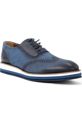 Erkek Mavi Ayakkabı Paul Branco Erkek Ayakkabı