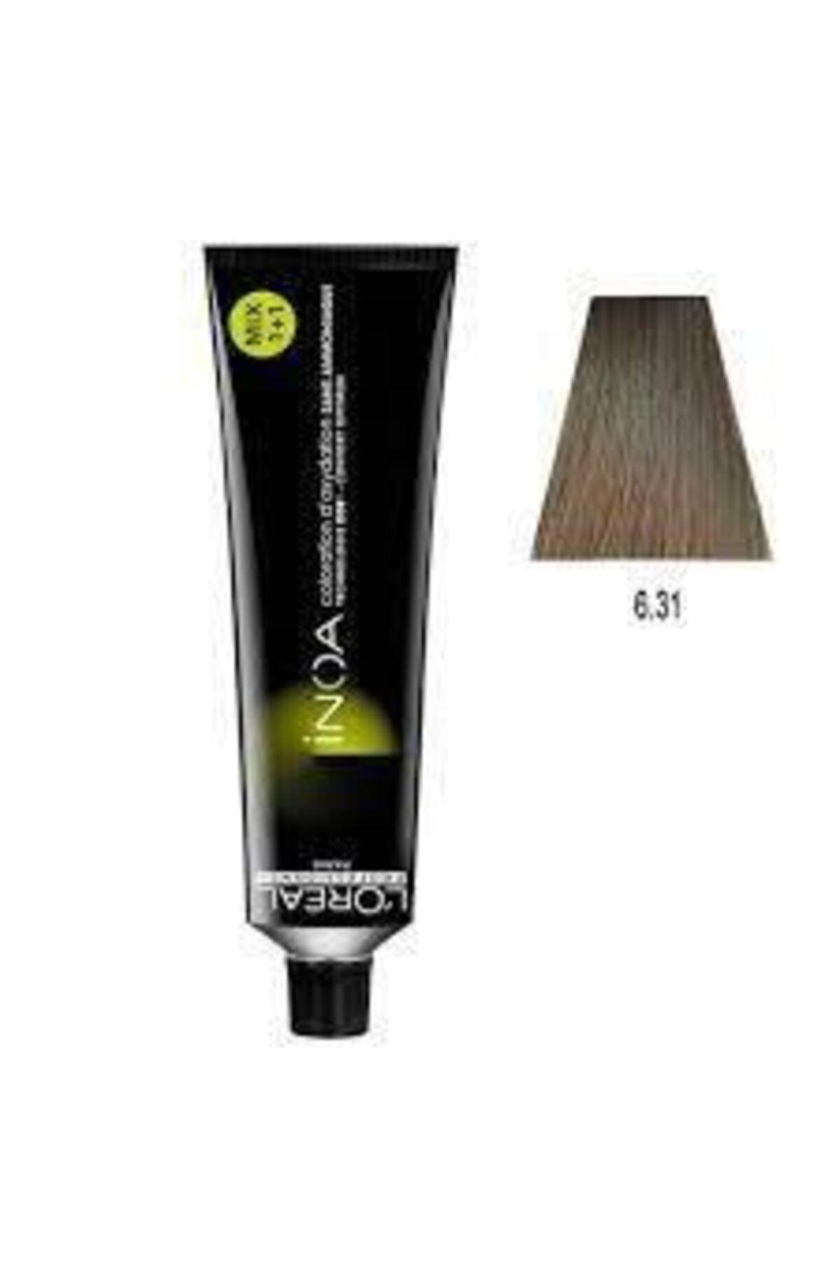 6.31 Numara Koyu Kumral Dore Küllü Oksidansız Saç Boyası 60 ml