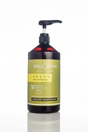 inlor Tuzsuz Parabensiz Şampuan Ozonlu Organik Sawpalmetto Etkili Argan Wellozone 1000ml 0