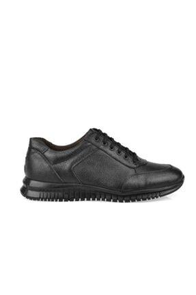 AND DERİ Erkek Siyah Hakiki Deri Ayakkabı 0