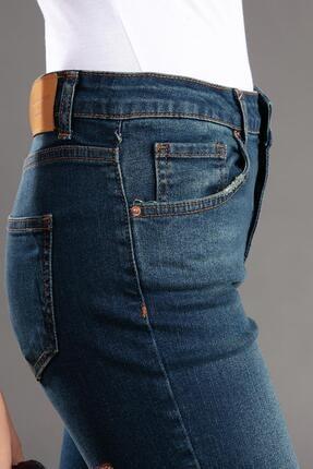 Pattaya Kadın Slim Boyfriend Kot Pantolon 10272 3
