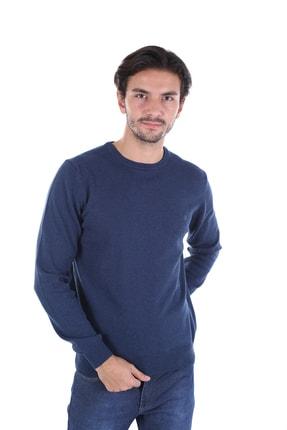 Picture of Erkek Mavi Sıfır Yaka Triko 2025200b