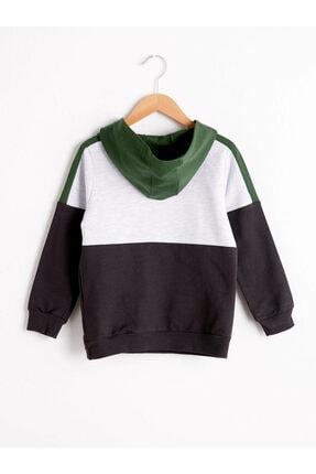 LC Waikiki Erkek Çocuk Siyah Sweatshirt 1