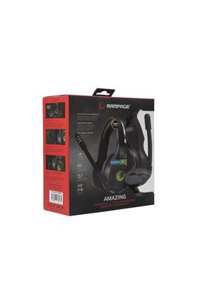 Rampage Rm-k10 Amazıng Siyah Usb 7.1 Noice Cancelling Mic Rgb Ledli Gaming Oyuncu Mikrofonlu Kulaklık 2