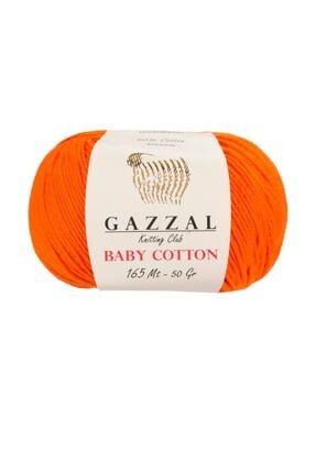 Gazzal Baby Cotton 3419   Pamuklu Amigurumi Ipi 0