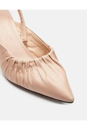 Jorbinol Kadın Bej Baye Ayakkabı 3