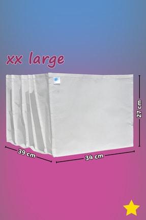 MİA Home Production Beyaz - Xx Large Boy / 5 Gözlü Çekmece Dolap Içi Düzenleyici - Organizer 0