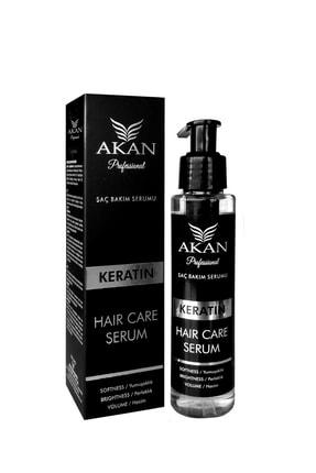Akan Aşırı Yıpranmış Ve Yavaş Uzayan Saçlar Için Keratin Yağı Ile Zenginleştirilmiş Saç Serumu 125 Ml 0