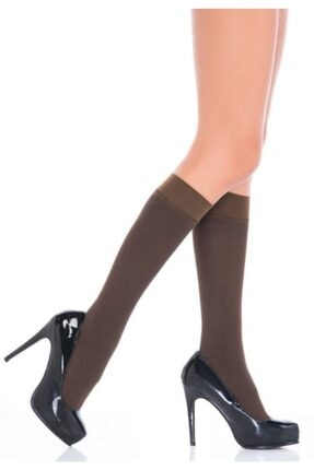 Penti Kadın Kakao Ekstra Koton Pantolon Çorabı (6ADET) 0