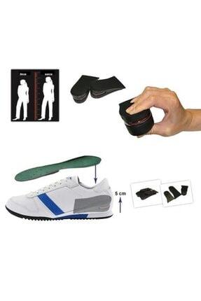 jetfast 5 Cm Gizli Topuk Hava Yastıklı Boy Uzatıcı Tabanlık Uzatan Taban Uzatma Tabanı Ayakkabı Tabanlığı 4