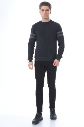 Rodi Jeans Erkek Triko Zigzaglı Slim Fit 0