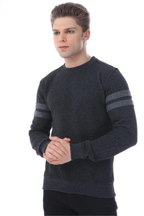 Rodi Jeans Erkek Triko Zigzaglı Slim Fit 1