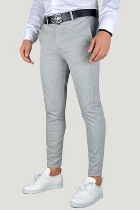 Terapi Men Erkek Gri Keten Pantolon 20k-2200341 1