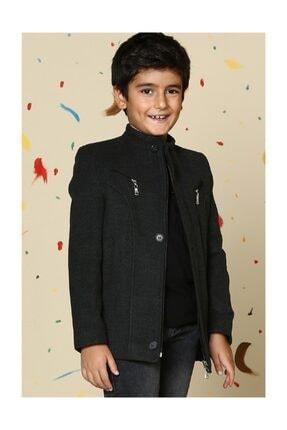 Erkek Çocuk Antrasit Kaban - 1530001K3001. resmi
