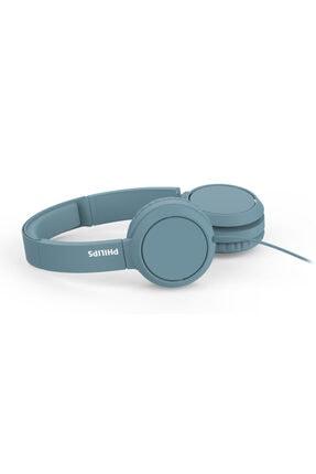 Philips Mavi Kablolu Kulak Üstü Kulaklık Tah4105 3