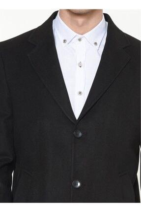Dewberry Erkek Siyah Palto - 1020001P8363.. 4