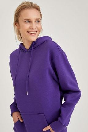 Defacto Kapüşonlu Regular Fit Sweatshirt 2