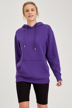Defacto Kapüşonlu Regular Fit Sweatshirt 4