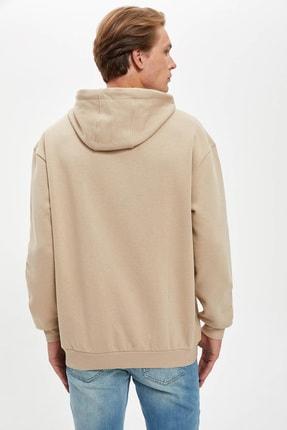 Defacto Oversize Fit Kapüşonlu Sweatshirt 3