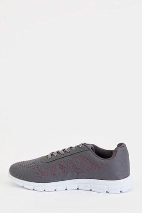 Defacto Kadın Gri Bağcıklı Aktif Spor Ayakkabı S1728AZ20AU 1
