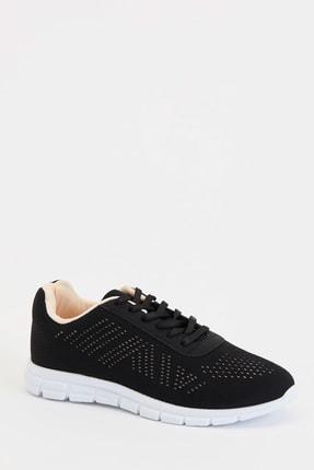 Defacto Kadın Siyah Bağcıklı Aktif Spor Ayakkabı S1728AZ20AU 0