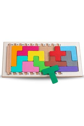 BEMİ Lüks Ahşap Seyahat Seti 3 Oyun Bir Arada - Satranç Penta Blok Koridoor Çocuk Ve Aile Kutu Oyunu 2