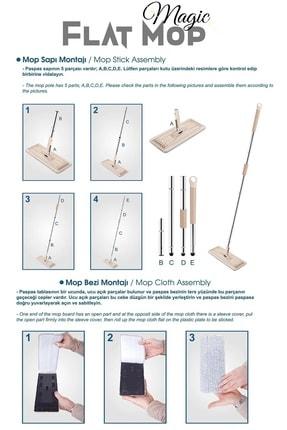 Bi' Home Magic Flat (tablet) Mop Set + 1 Yedek Bez 1