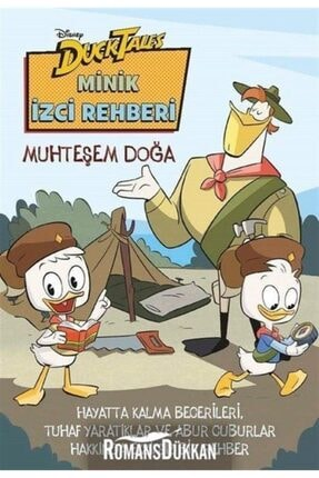 Doğan Egmont Yayıncılık Duck Tales-minik Izci Rehberi-muhteşem Doğa 0