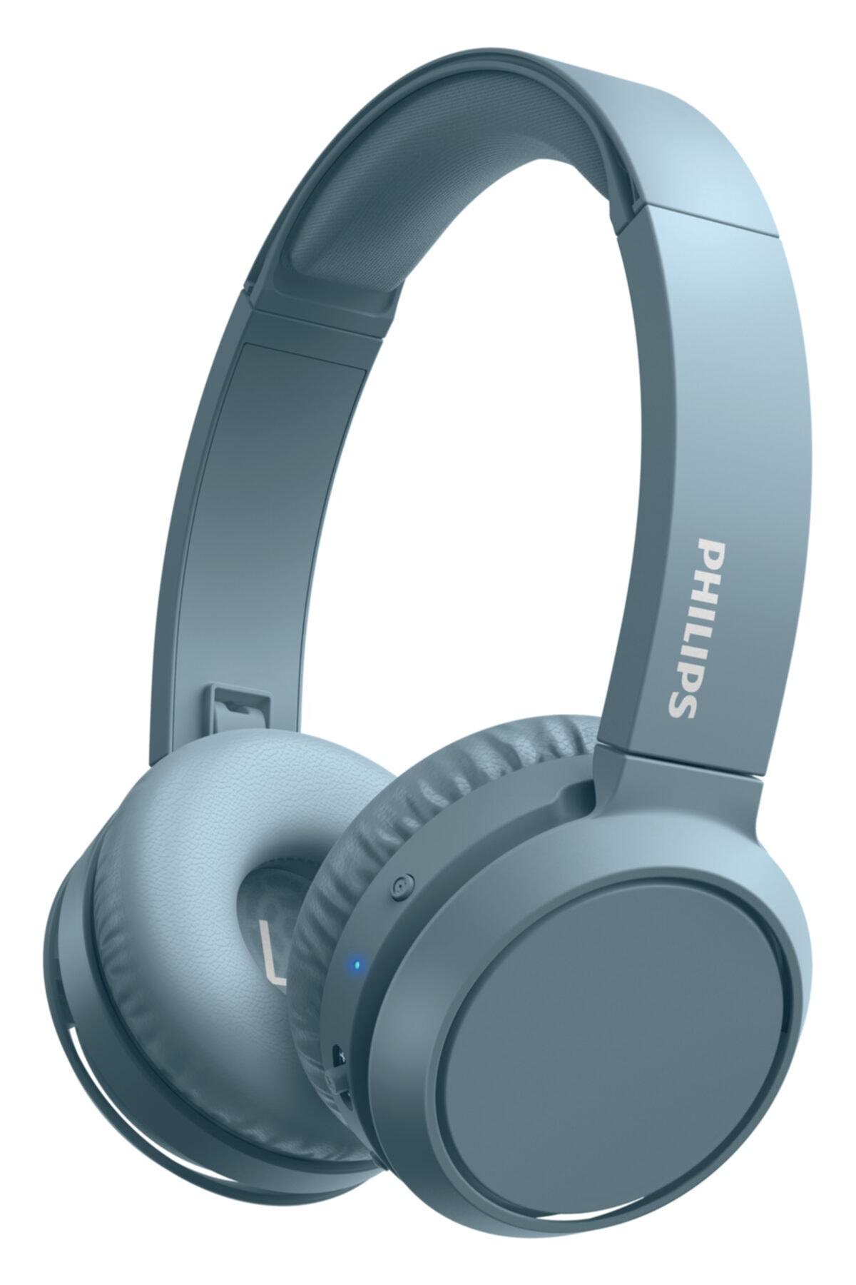Mavi Bluetooth Kulak Üstü Kulaklık Tah4205
