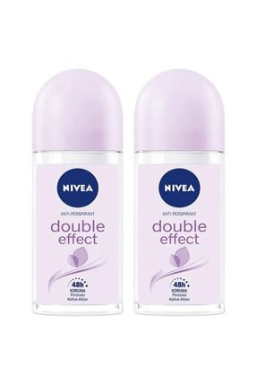 Nivea Double Effect Kadın Deodorant Roll-on 50 Ml 2'li 0