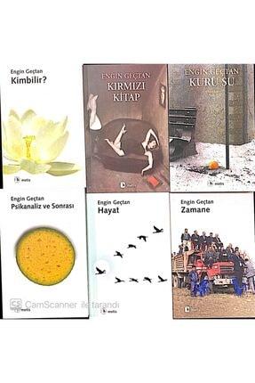 Metis Yayıncılık Engin Geçtan Kitap Seti 6 Kitap Kırmızı Kitap Kim Bilir Kuru Su Zamane Hayat Dinamik 0