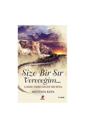 Fenomen Kitap Mustafa Kaya Size Bir Sır Vereceğim 1 0