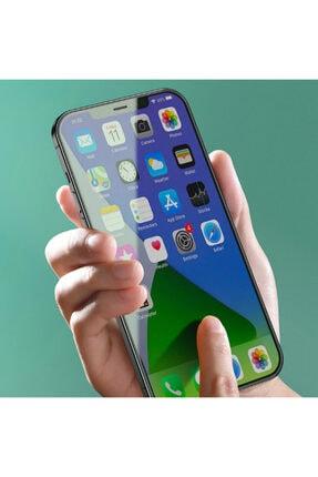 Baseus Iphone 12- 12 Pro 6.1 0.15mm Full Tempered Cam Ekran Koruyucu 2set Anti-bluelight 3